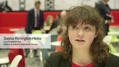 Thumbnail for entry Apprentice Recruitment Film (Lloyd's of London)