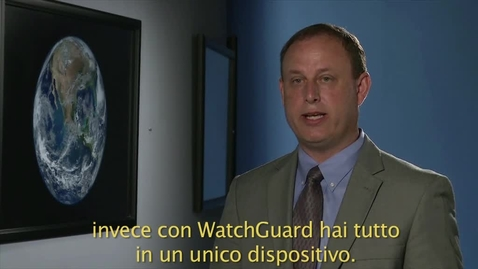 Thumbnail for entry Italian translation with subtitles (Watchguard)