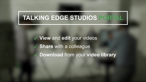 Thumbnail for entry Video Editing Portal Tutorial Video