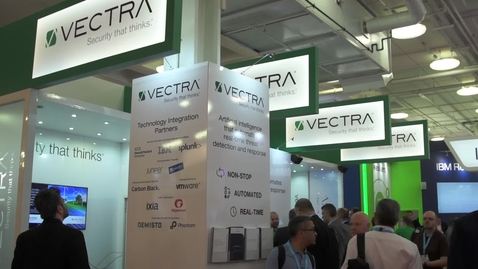 Thumbnail for entry InfoSecurity 2017 Exhibitor 'promo' video (Vectra)