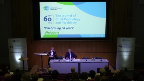 Thumbnail for entry JCPP 'Celebrating 60 Years'  Live Broadcast Highlights (ACAMH)