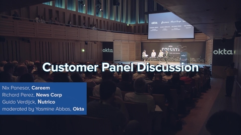 Thumbnail for entry Okta Forum 2018 Highlights Video