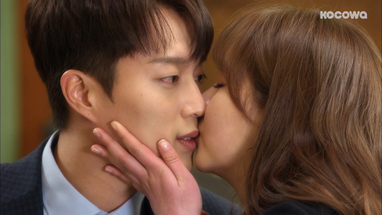 Radio Romance: Episode 11] Shutting him up with a kiss