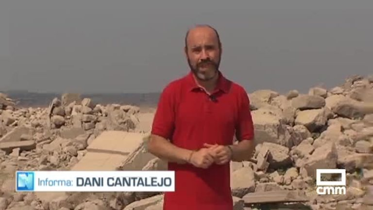 Talavera La Vieja emerge por la sequía