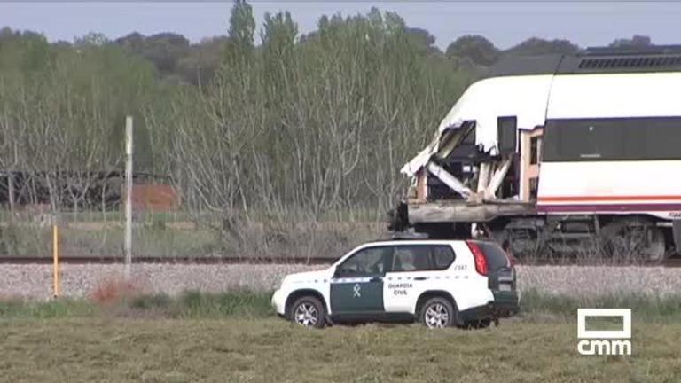 Restablecido el tráfico tras el accidente ferroviario en Alberche del Caudillo