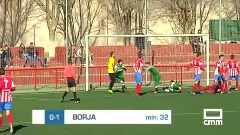 CD Pedroñeras - Mora CF (1-2)