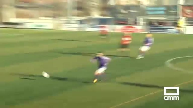 CD Azuqueca - CD Guadalajara (0-1)