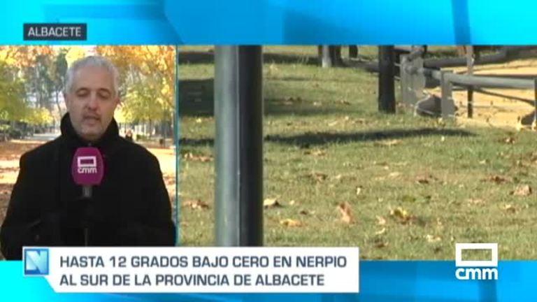 Albacete, Cuenca y Guadalajara, bajo cero