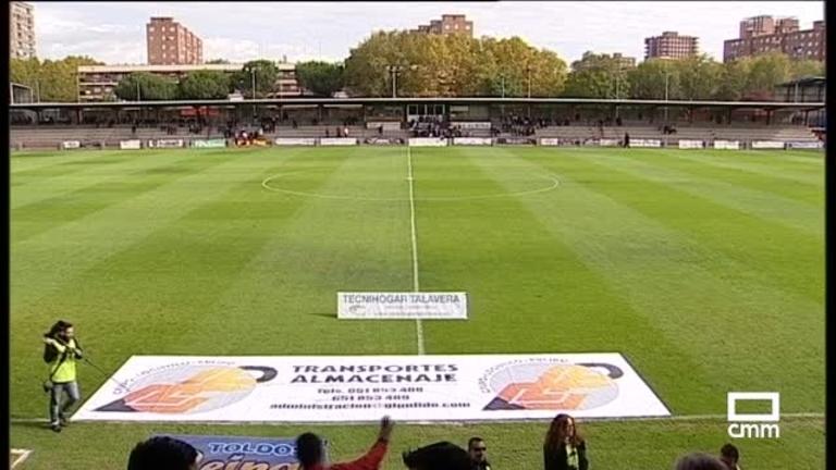 Fútbol 2ªB. C.F. Talavera - Pontevedra C.F.