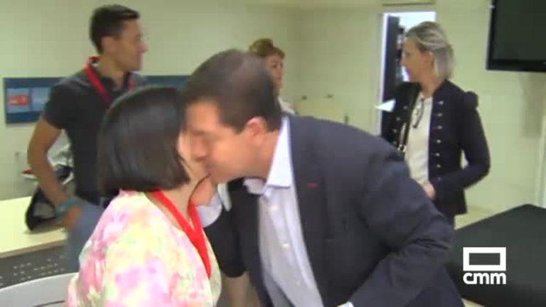 Page y Blanco, a pocas horas de conocerse los resultados de las primarias PSOE C-LM