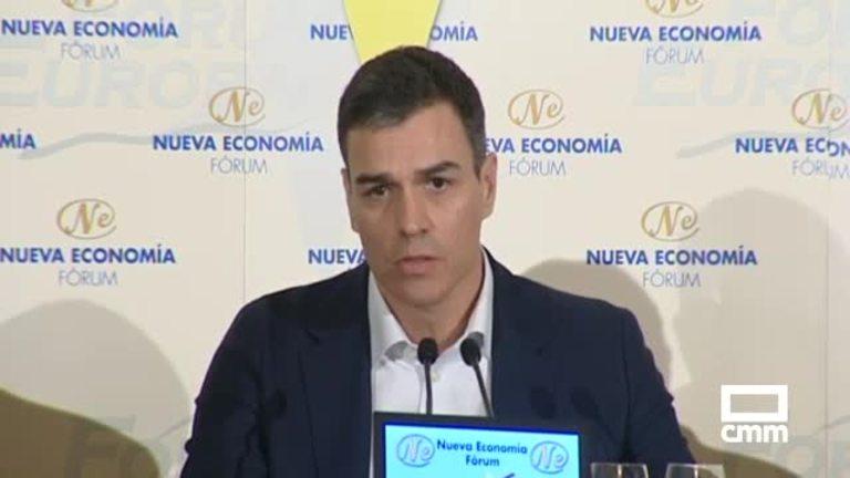 Pedro Sánchez propone dos impuestos a la banca para sostener las pensiones