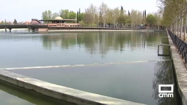 Aparecen peces muertos en el parque del Pilar de Ciudad Real
