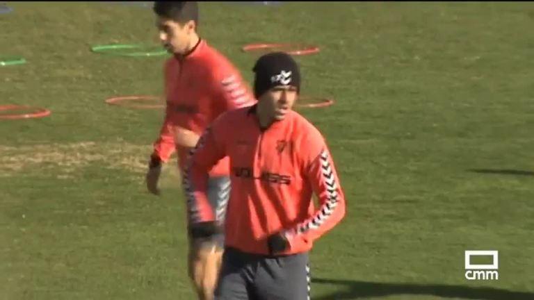 El Alba prepara su enfrentamiento en el Carlos Belmonte frente al Valladolid