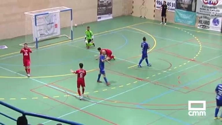 Manzanares FS - FSD Puertollano (2-1)