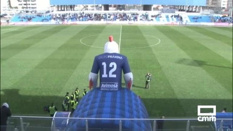 Fútbol 2ªB. CF Fuenlabrada - CF Talavera