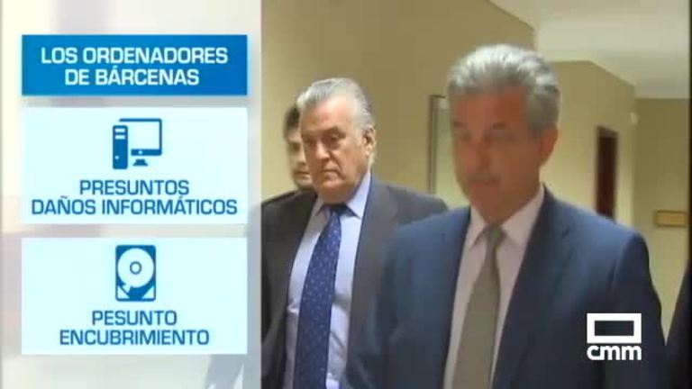 La Audiencia de Madrid procesa al PP por el borrado de los discos duros de Bárcenas