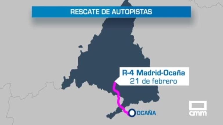La R-4 Madrid-Ocaña, primera autopista en quiebra que rescata Fomento