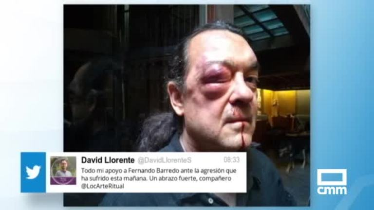 Fernando Barredo, ingresado por una agresión