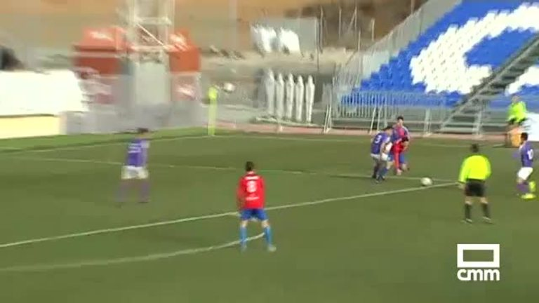 CD Guadalajara - CP Villarrobledo (2-1)