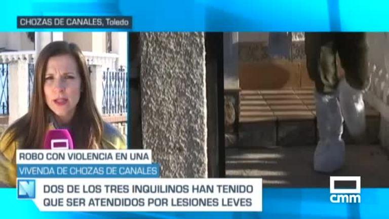 Robo con violencia en Chozas de Canales, Toledo: hay 2 heridos leves