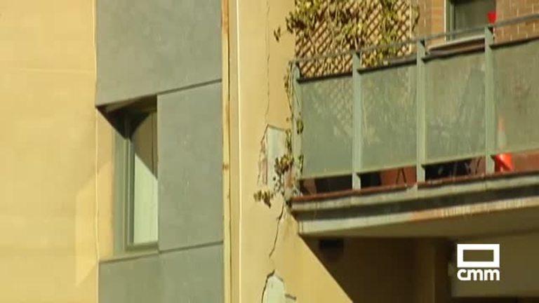 Los vecinos del edificio de Guadalajara afectado por grietas serán desalojados de nuevo