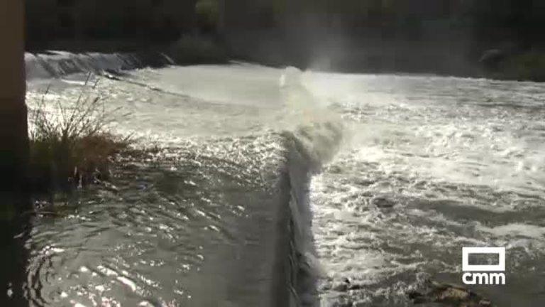 Espumas en el Tajo: nuevas imágenes de un río turbio y sucio salpicado de manchas blancas