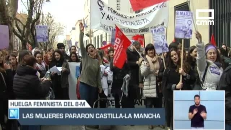 Las mujeres pararon y Castilla-La mancha se detuvo