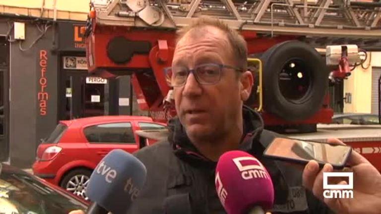 4 heridos en el incendio de una vivienda en Albacete y otros 2 heridos en Azuqueca