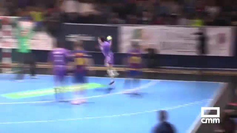 Quabit BM Guadalajara- FC Barcelona Lassa (26-26)