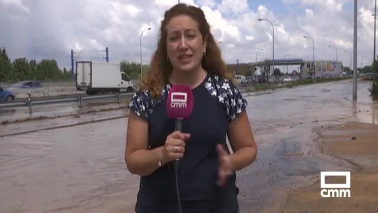 Las fuertes tormentas en Toledo inundan la capital y varios municipios