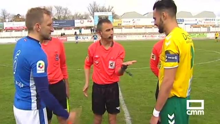 Atlético Tomelloso - CD Manchego (0-1)