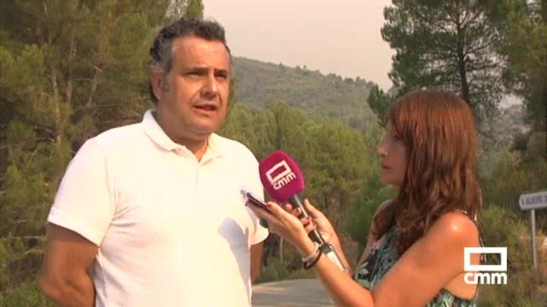 El incendio de Yeste ya ha quemado 1.000 hectáreas de la Sierra del Segura