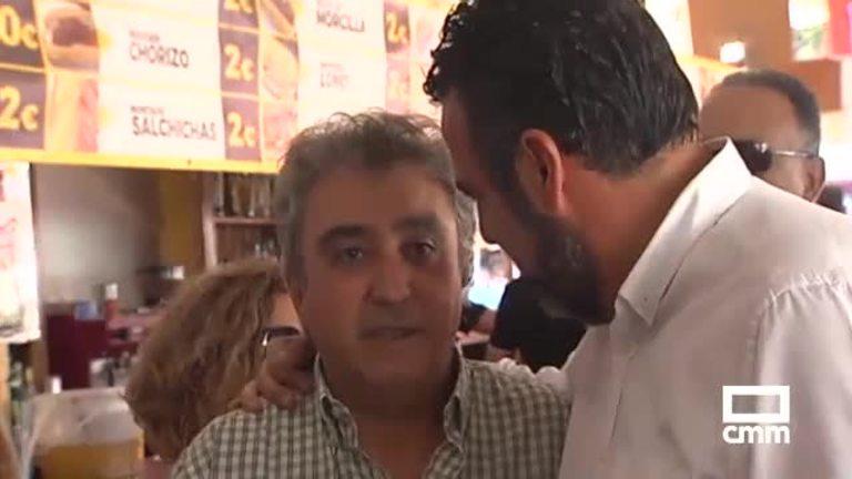 Los candidatos a la secretaría general del PSOE C-LM a una semana de las primarias