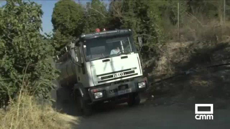 Continúa el abastecimiento de agua con camiones cisternas en Guadalajara