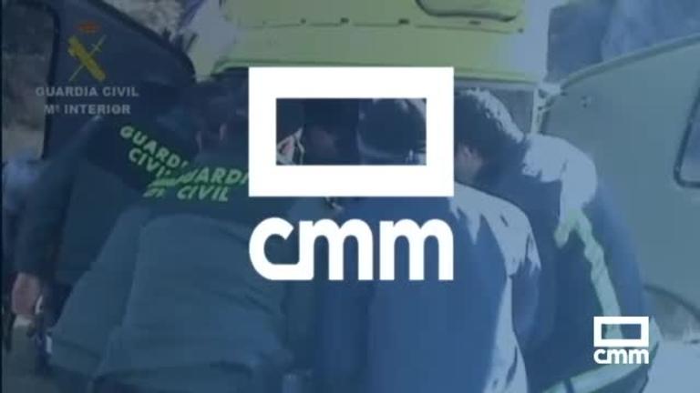 Vídeo: Así fue el rescate al ciclista que cayó en un paraje de Puebla de Don Rodrigo