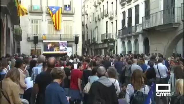 El Gobierno pide a Puigdemont que su respuesta del lunes sea