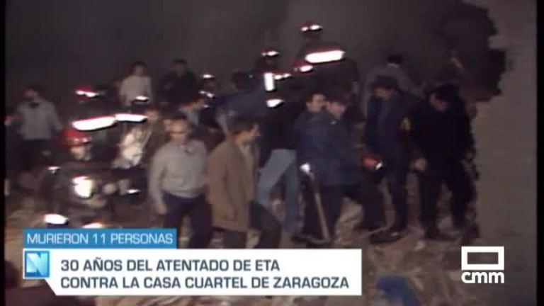 Se cumplen 30 años del atentado a la casa cuartel de Zaragoza