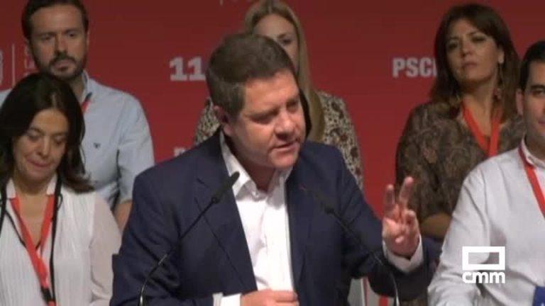 Page tras ser proclamado secretario general PSOE C-LM: