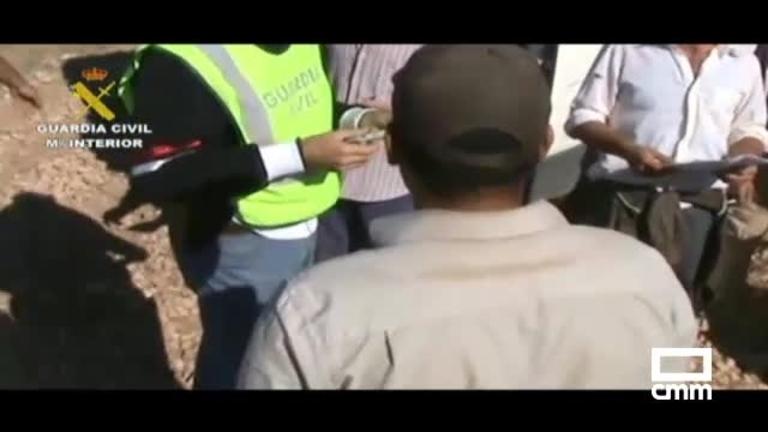 18 detenidos por trata laboral de personas en Bolaños de Calatrava