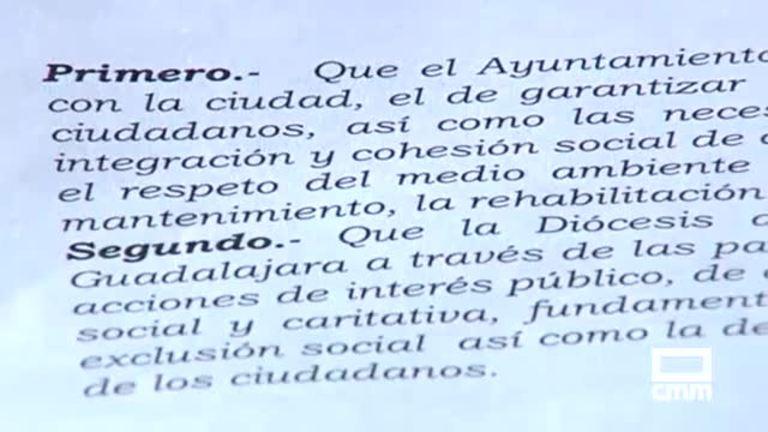 Cs Guadalajara critica que el Ayuntamiento pague pantallas de plasma a la Iglesia