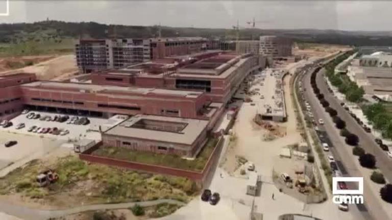 Vídeo: Así avanzan las obras del nuevo hospital de Toledo a vista de dron