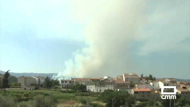 El incendio de Yeste podría haber sido intencionado