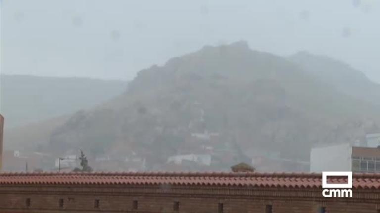 Granizada en Puertollano; avisos por tormentas en Castilla-La Mancha