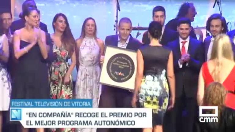 El programa de CMM 'En Compañía' mejor programa autonómico en el Festival de Televisión de Vitoria