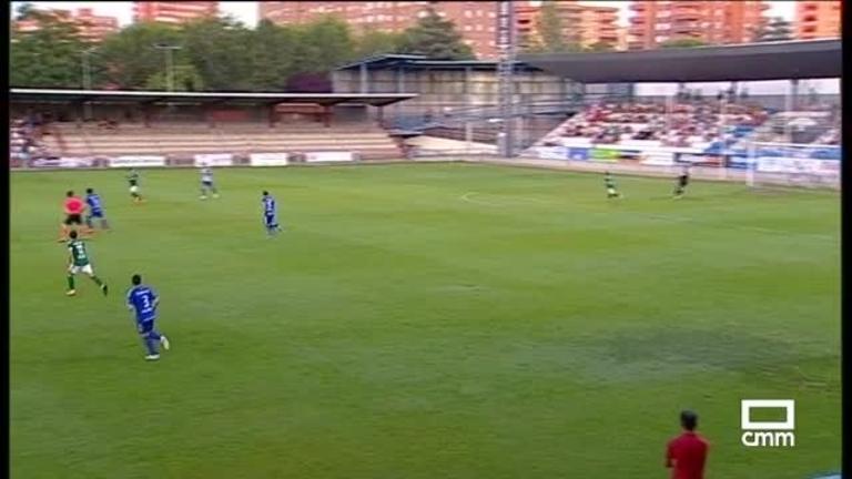 Copa del Rey. CF Talavera vs CD Toledo