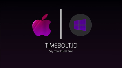 Thumbnail for entry TimeBolt Software Video