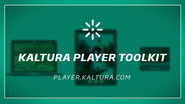 Kaltura Player - Fast, Flexible, Video Player Toolkit - main