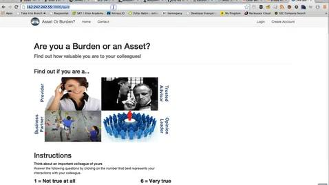 Thumbnail for entry Asset Or Burden Screens WalkThrough Video