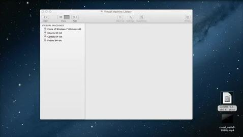Thumbnail for entry Kaltura CE - Part 1 - Setting up a CentOS Virtual Machine in VMware Fusion