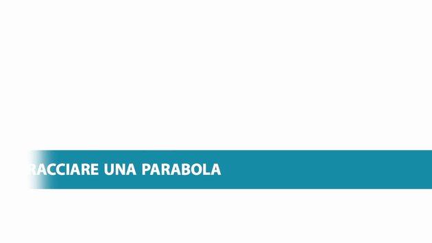 Molto Tracciare una parabola | Zanichelli Aula di scienze AR17